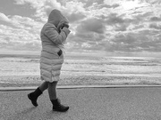5th Feb 2021 - Walking at the beach with the ocean to look at....