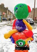 8th Feb 2021 - Colourful bear