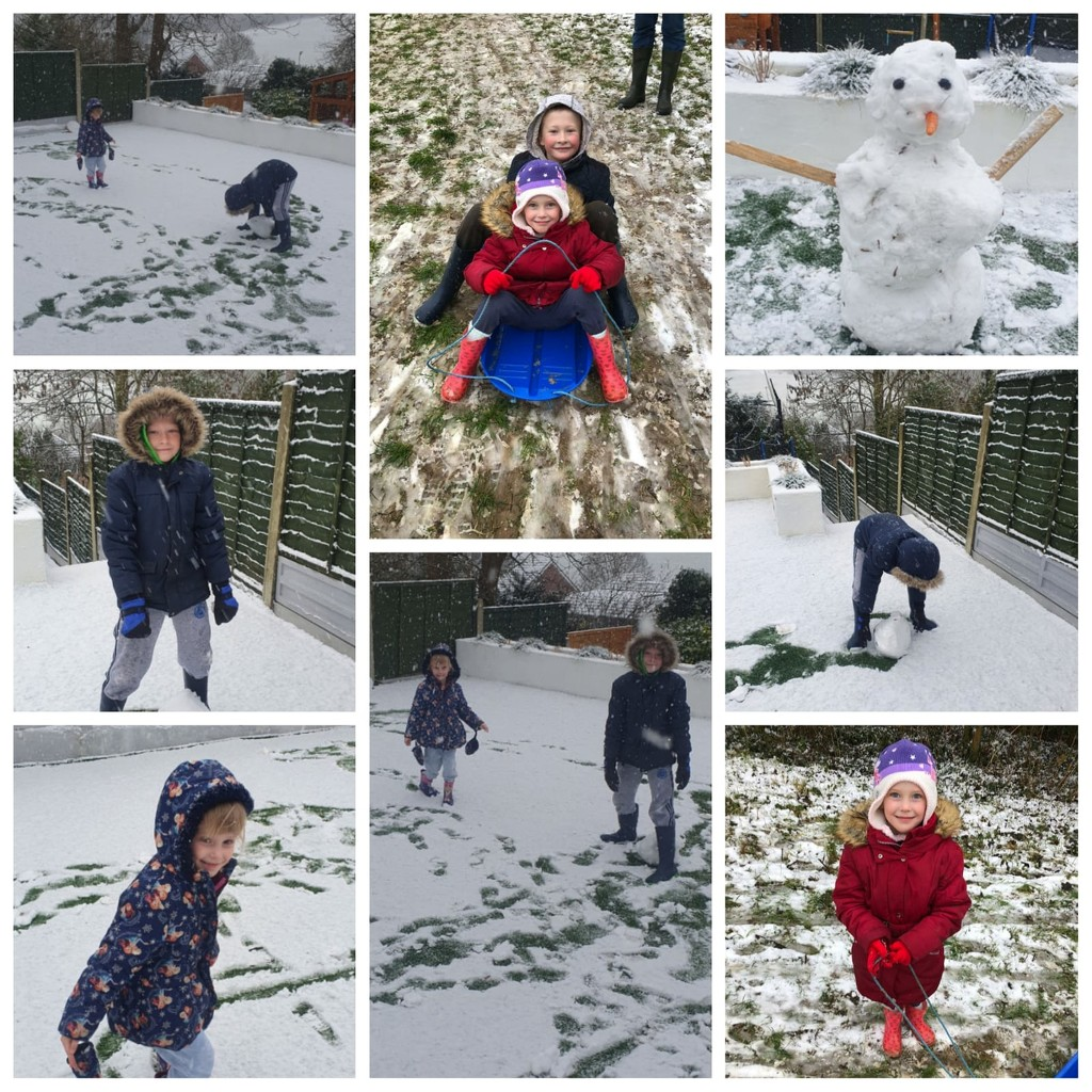 Fun in the Snow by susiemc