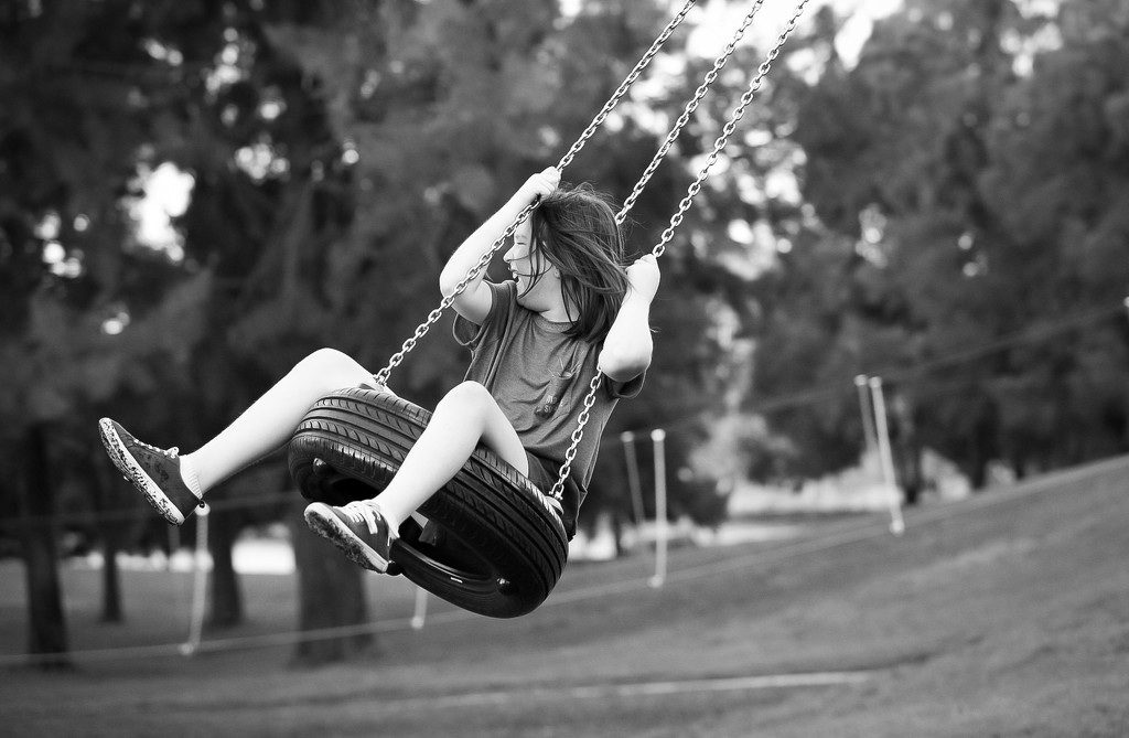 For the joy of a tyre swing by sharandrah