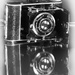 Flash of Red February- Goldi camera 1930 by yolanda