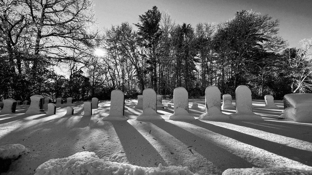 Graveyard shadows by srmueller
