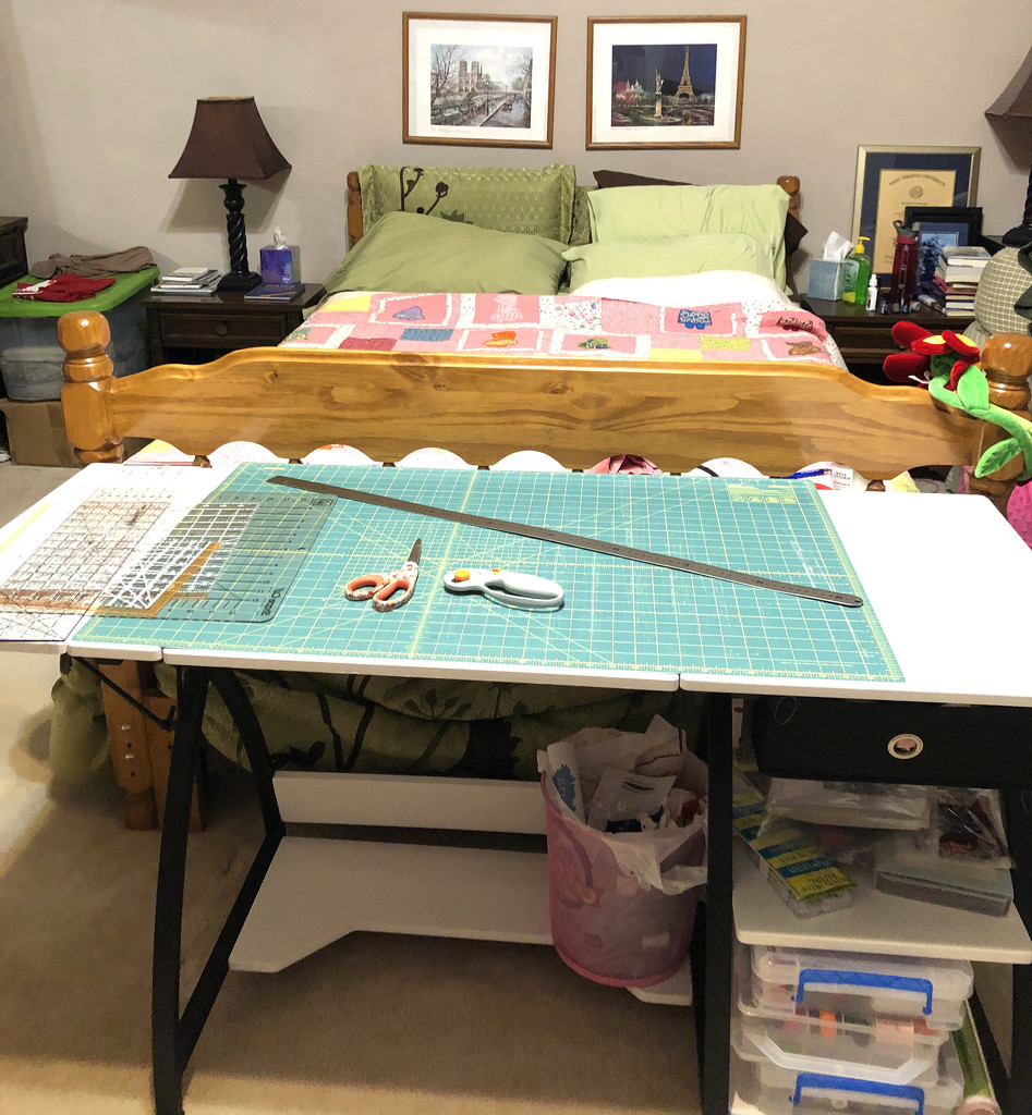 Cutting table by homeschoolmom