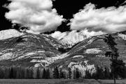 10th Feb 2021 - Puffy Floating Clouds in Jasper