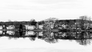 7th Feb 2021 - Number One Pond in Black and White