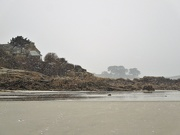 10th Feb 2021 - It is snowing over the beach
