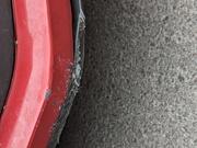 9th Feb 2021 - Rental car scratch