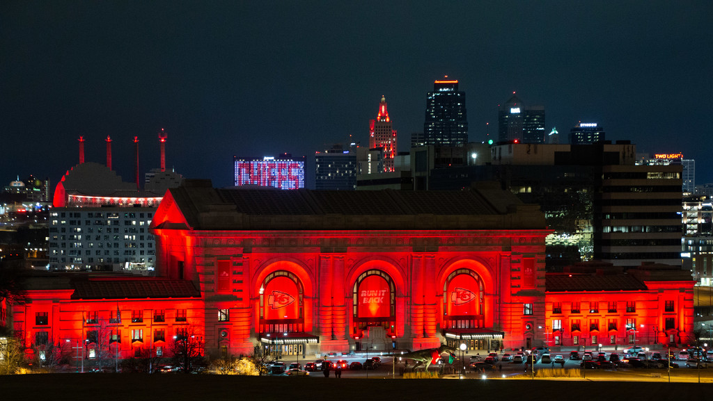 Kansas City in the Red by photograndma