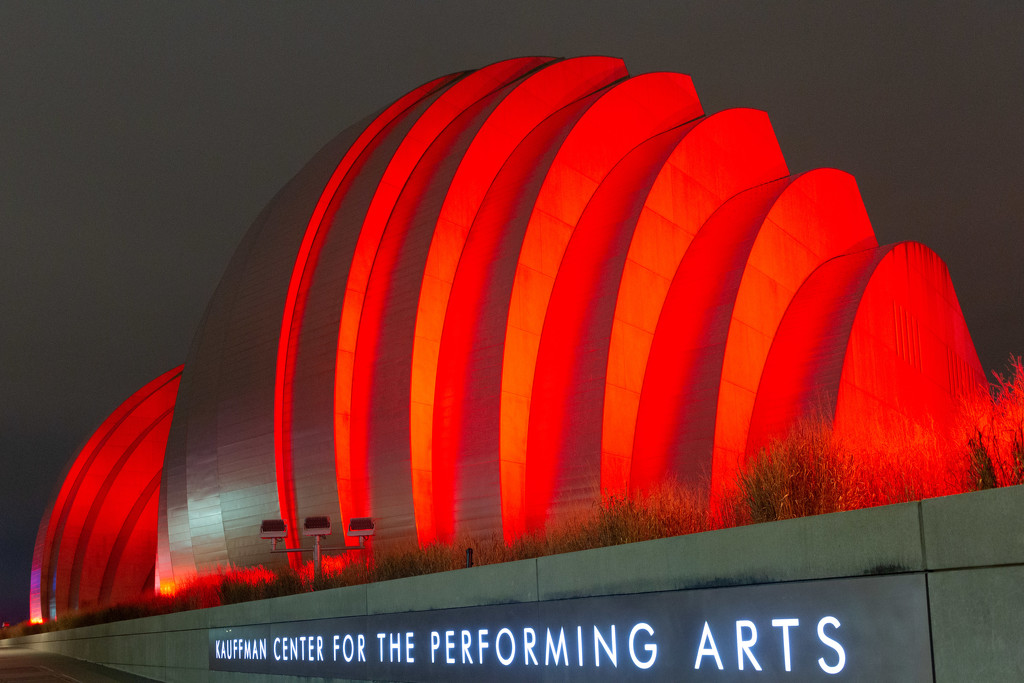 Performing Arts Center the Back by photograndma