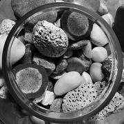 11th Feb 2021 - Big glass jar with stones