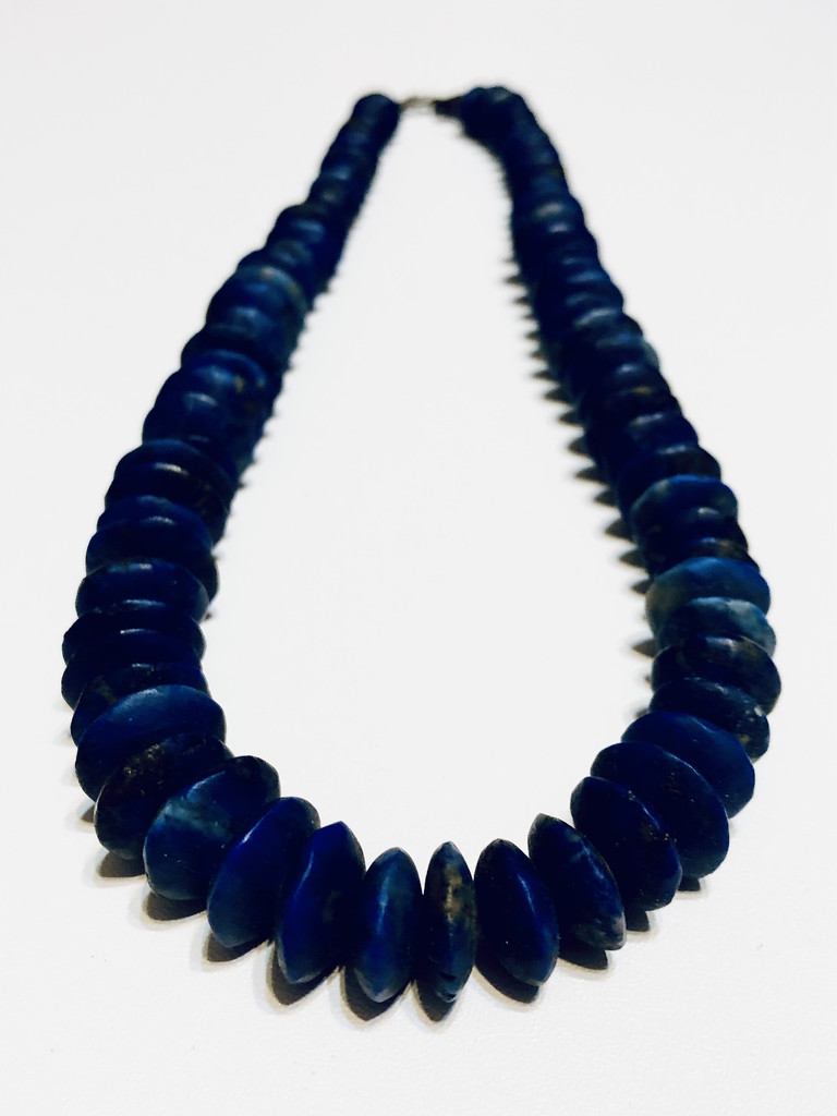 Blue lapis from Afghanistan by homeschoolmom