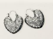 12th Feb 2021 - Heart earrings