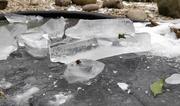 13th Feb 2021 - Pond ice