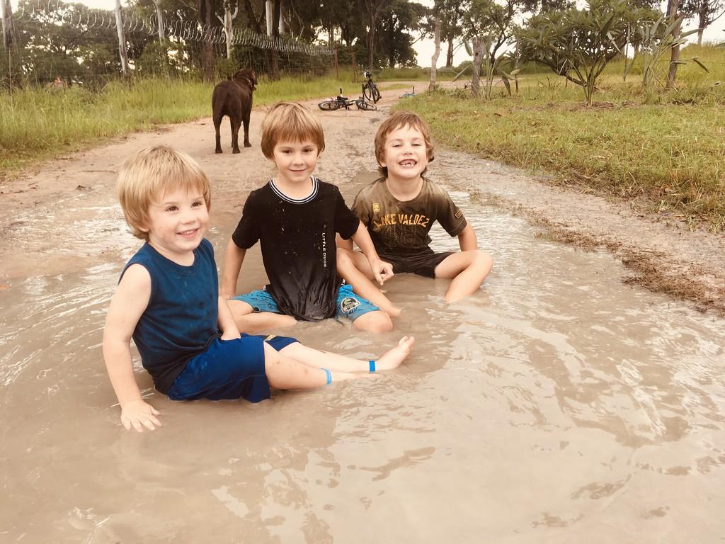 Muddy Puddles  by zambianlass