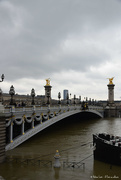 7th Feb 2021 - high Seine at Pont Alexandre III