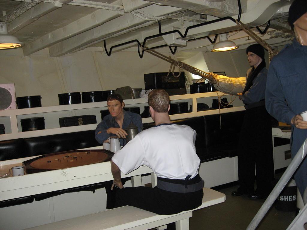 Games #4: Crokinole aboard HMCS Sackville by spanishliz