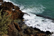 16th Feb 2021 -  Looking Over The Cliff Face At Coolum ~