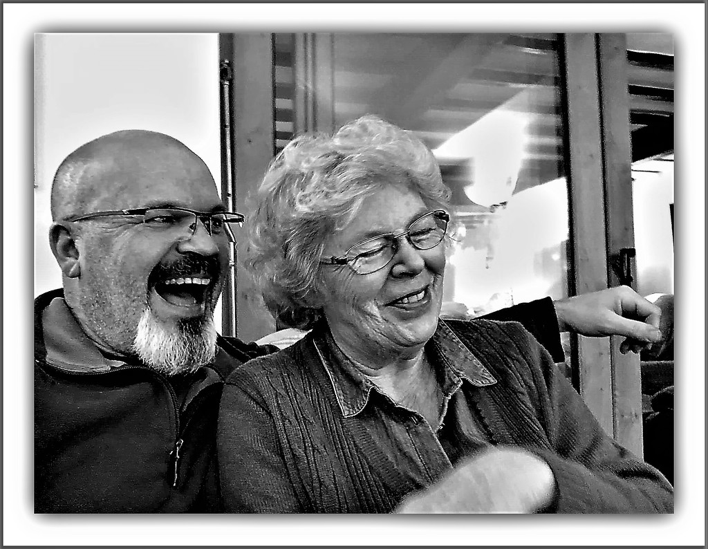 Kenny and Carole  by beryl