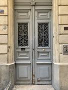 18th Feb 2021 - Hearts on grey door.
