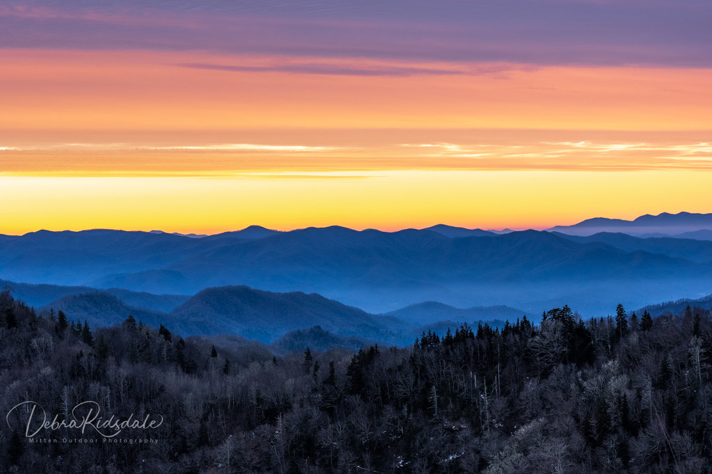 Smoky Mountain Sunrise by dridsdale