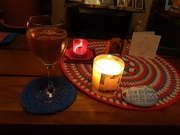 15th Feb 2021 - A cosy candle lit evening.