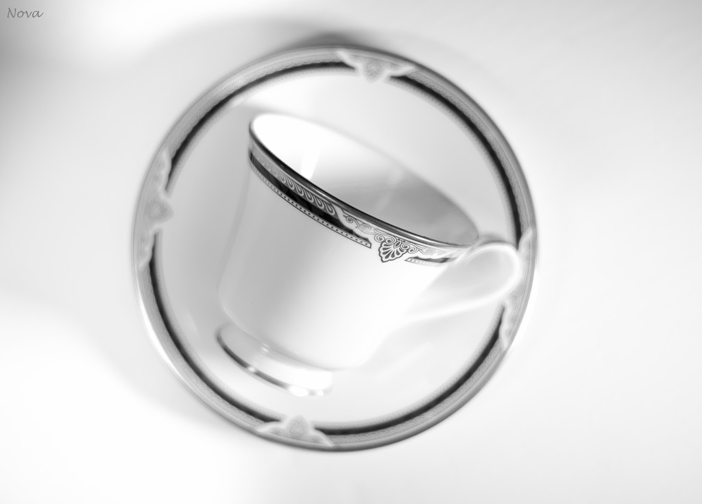 Cup and saucer by novab
