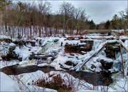 13th Feb 2021 - Resica Falls in Winter
