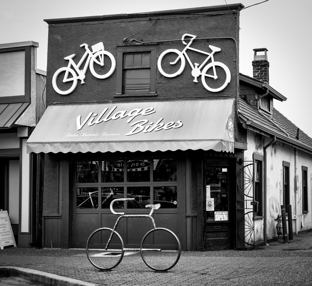 Village Bikes.  by cdcook48