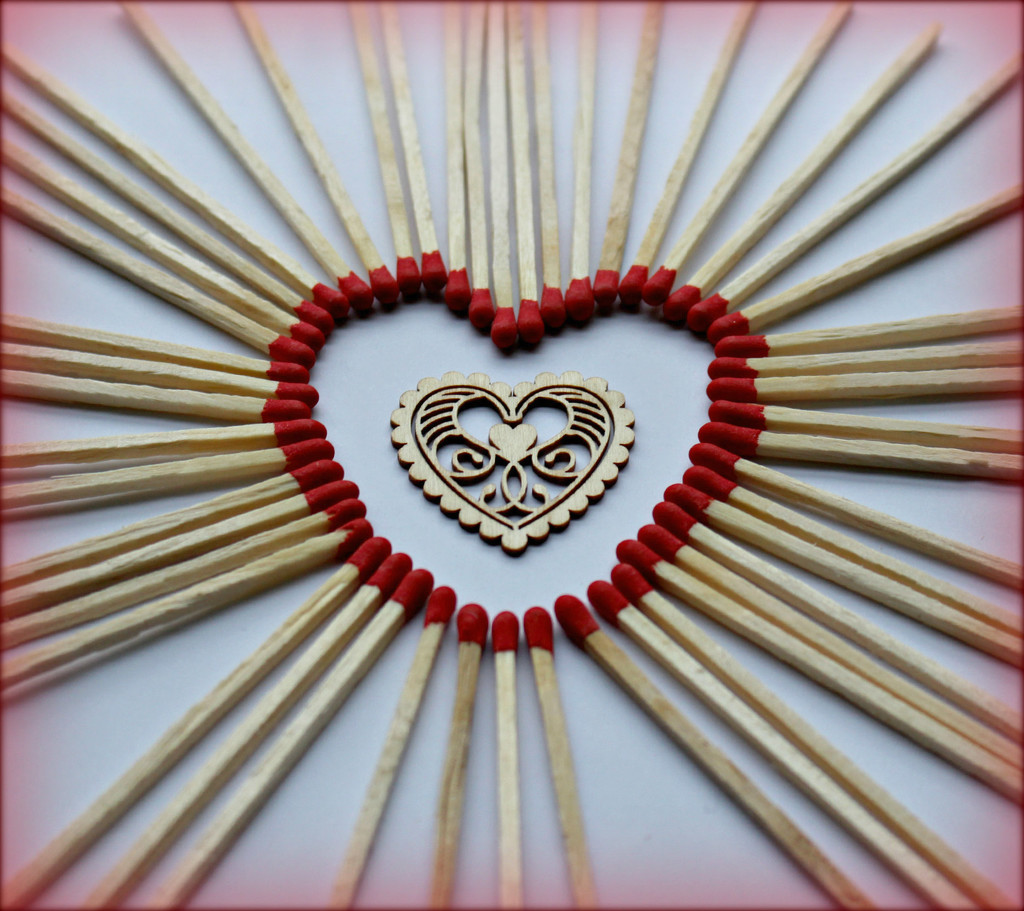 Matchstick Heart  by wendyfrost