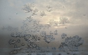 12th Feb 2021 - The Magic of Frost and the Rising Sun Behind Our Window.