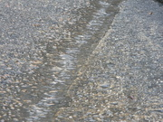 19th Feb 2021 - Water Running Down Street