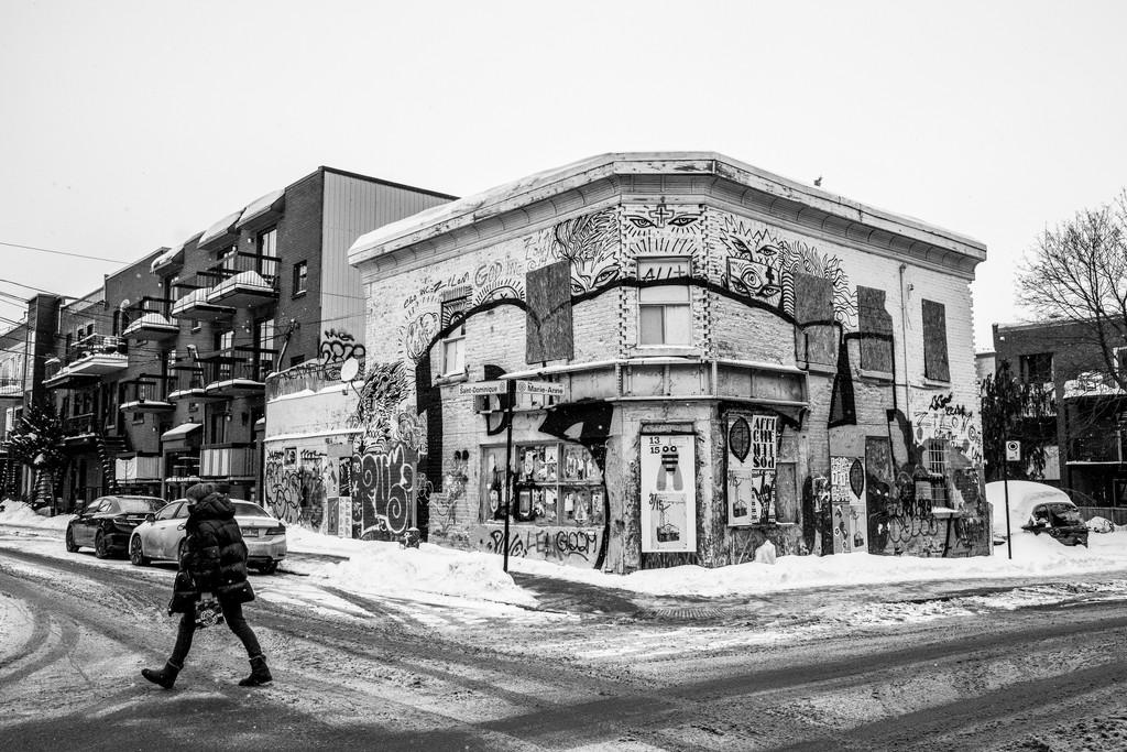Mile End Street Scene by sprphotos