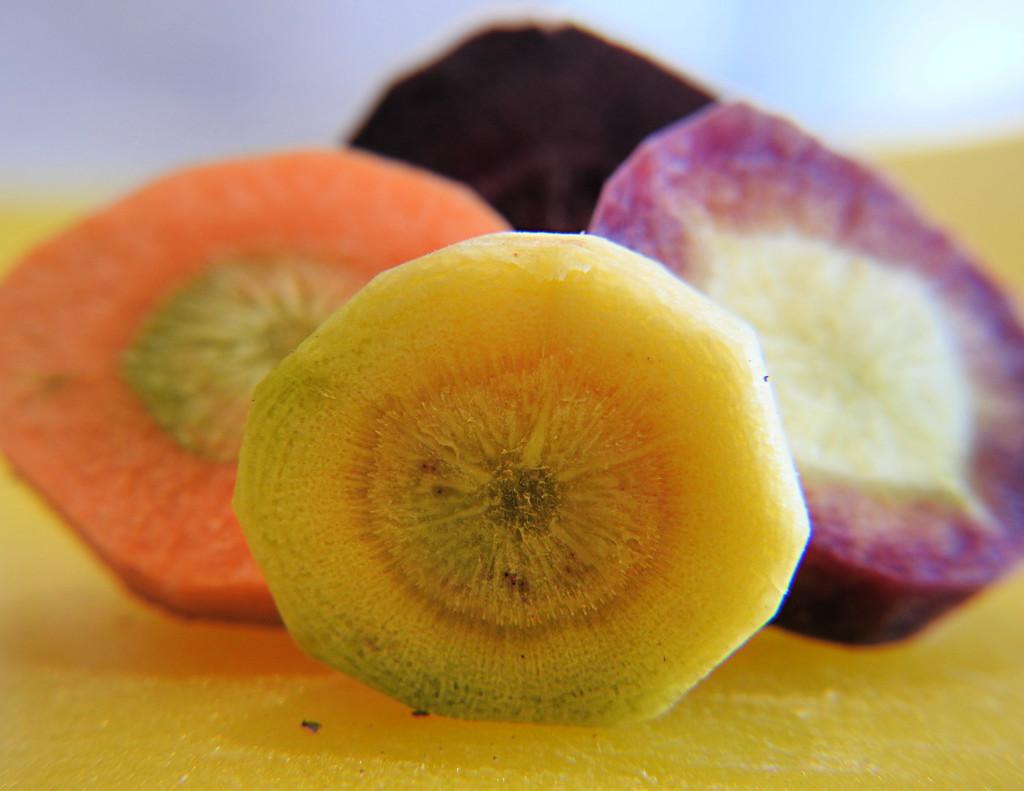 Rainbow Carrots by ddw