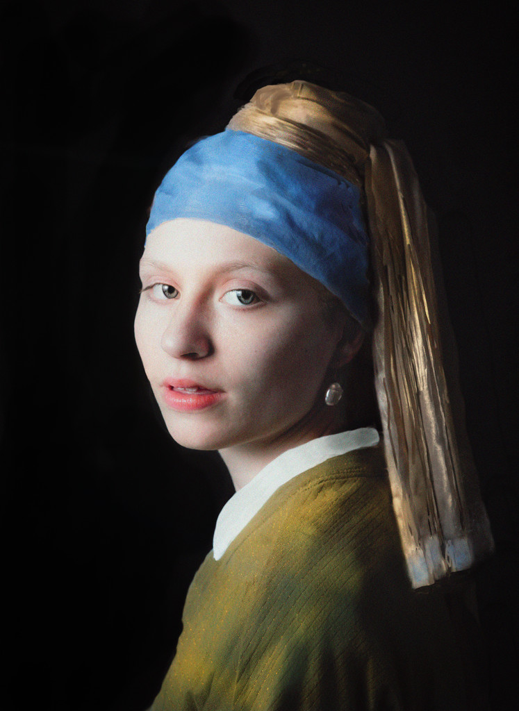 Holly with a Pearl Earring by myhrhelper