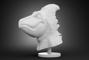 21st Feb 2021 - Bird Dino Head