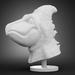 Bird Dino Head