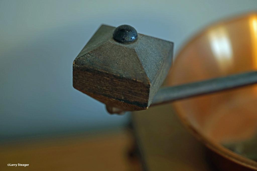 Coffee grinder crank handle by larrysphotos