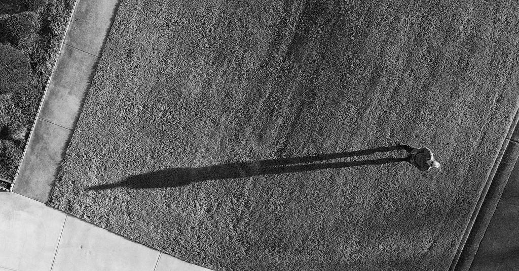 Me & My Shadow by kvphoto