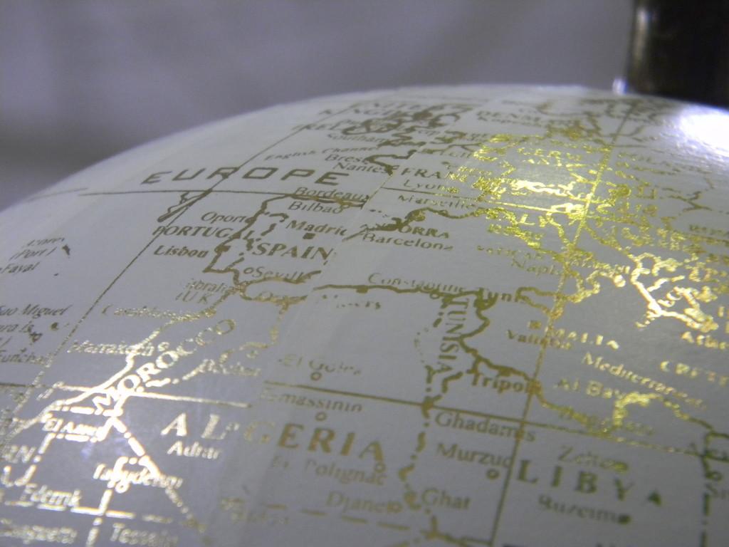 Globe at World Market by sfeldphotos
