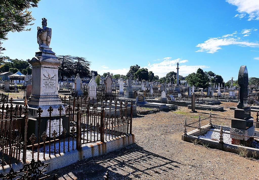 Cemetery by mickeymusic