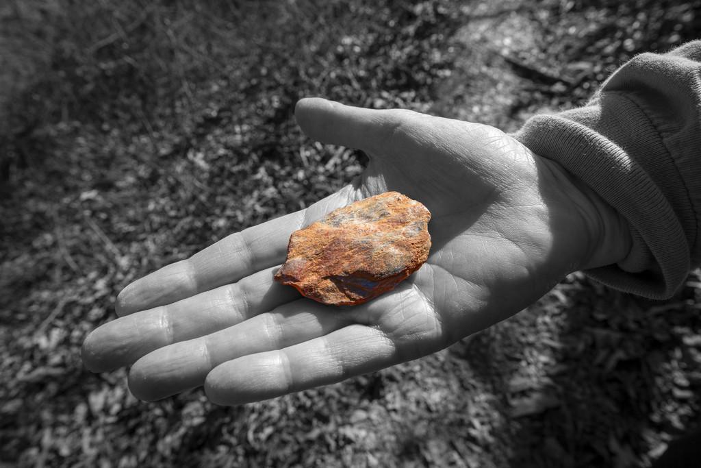 Rock in Hand by kvphoto