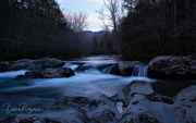 21st Feb 2021 - Twilight on Little Pigeon River
