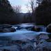 Twilight on Little Pigeon River