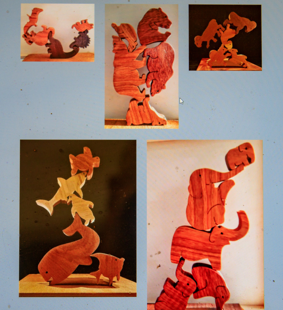 Scroll Saw Stacking Puzzles by hjbenson
