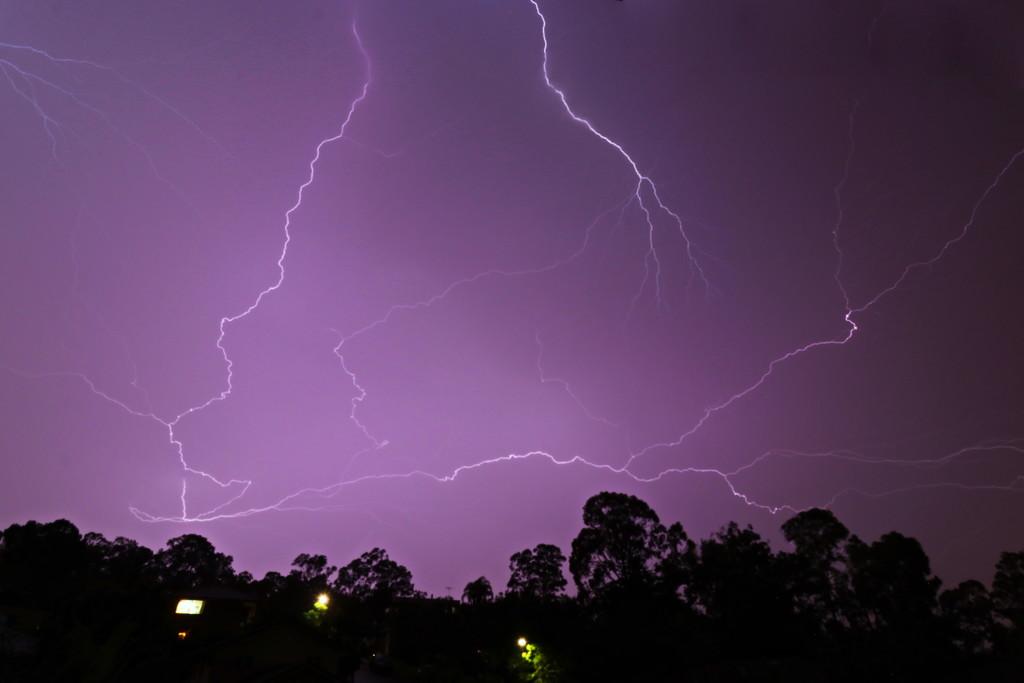 Crazy Lightning by terryliv