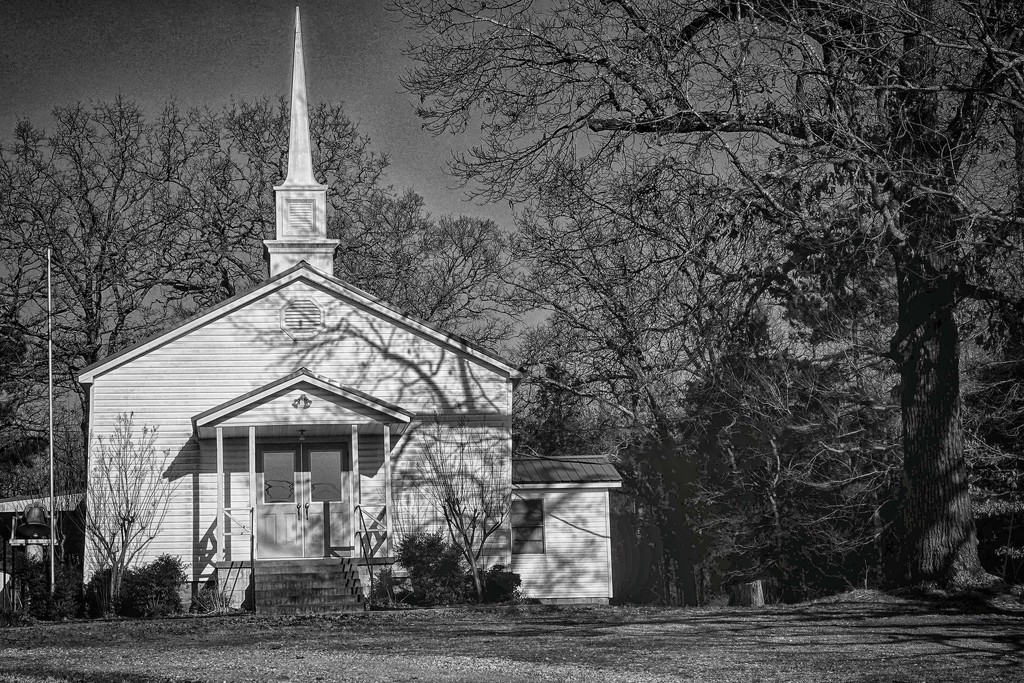 The Old Country Church by milaniet