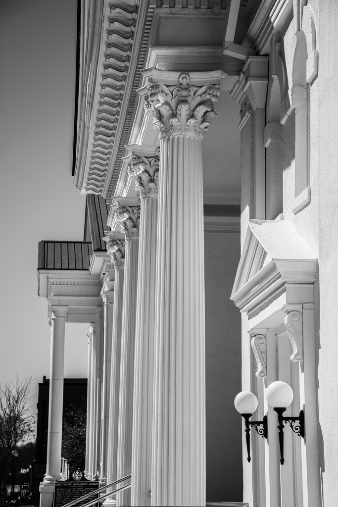 Church columns... by thewatersphotos