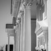 Church columns...
