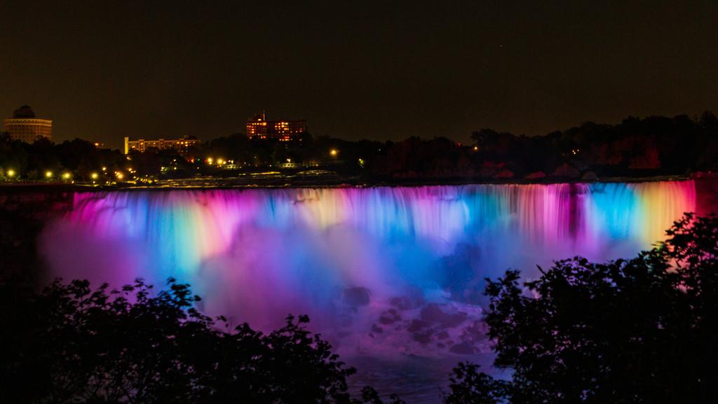 Niagara Falls in Pastel by photograndma