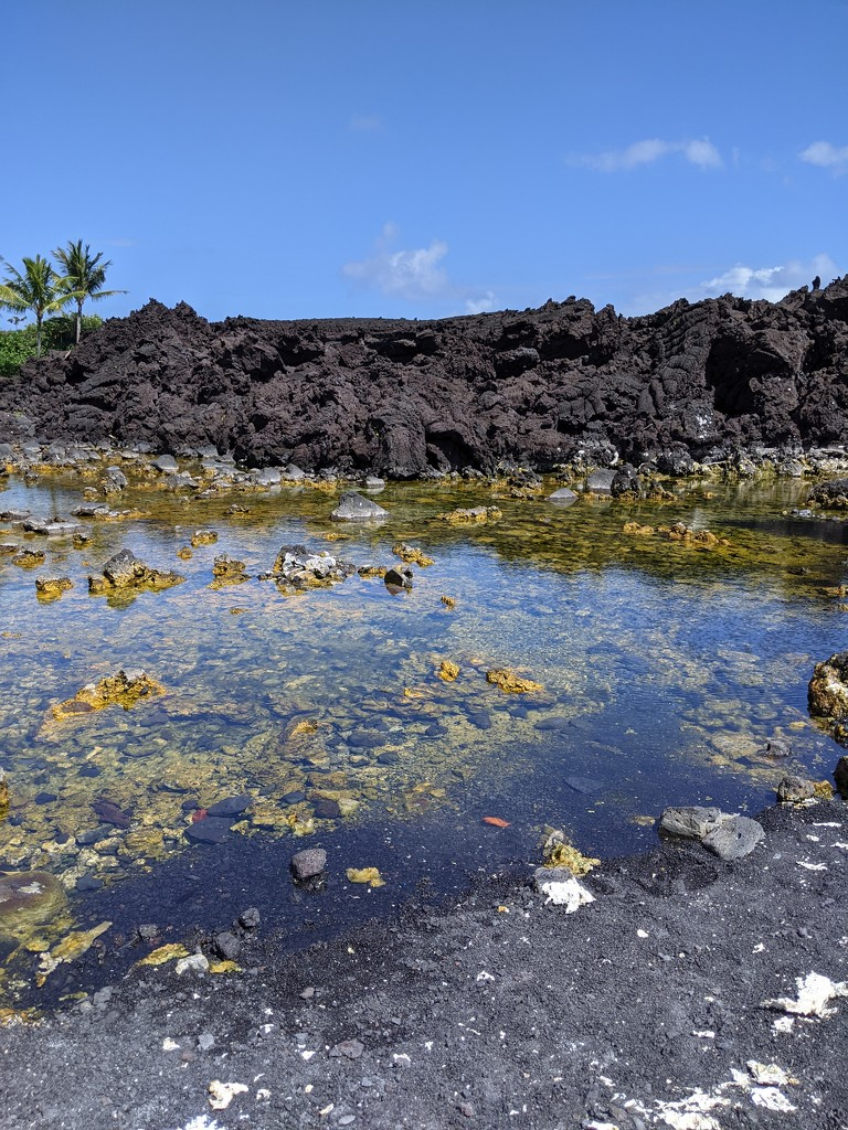 This is where the Lava stopped by bambilee